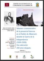 Cartel presentación monografico guerra de la Independencia