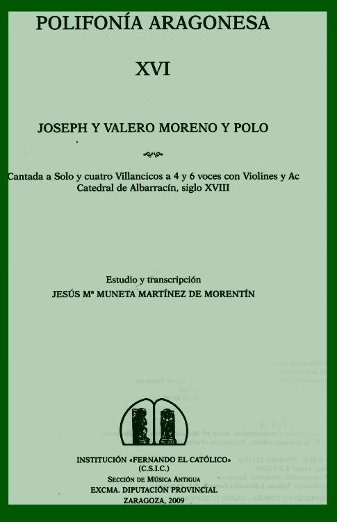 portada Polifonia Aragonesa