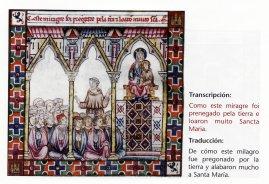 De cómo este milagro fue pregonado por la tierra y alabaron mucho a Santa María
