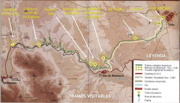 Mapa-acueducto