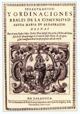 Portada de las ordinaciones de 1678
