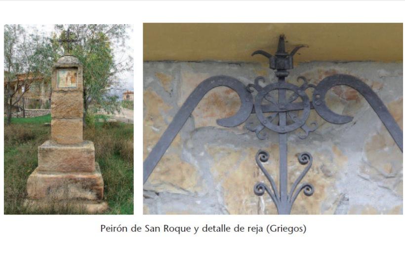 Peirón de San Roque (Griegos)