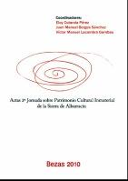 Actas 2ª Jornada sobre Patrimonio Cultural Inmaterial de la Sierra de Albarracín