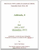 Addenda, 8.1, diciembre 2013