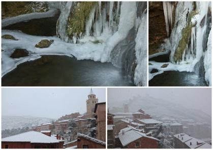 Cascada de Calomarde y Albarracín