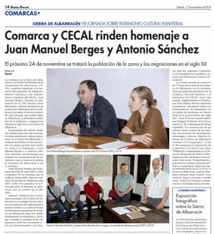 Diario-Teruel-noticia-Jornada-PCISA