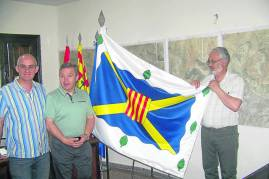 Antonio Sánchez (Alcalde de Jabaloyas), Baldomero Lago (Cónsul de España en Utah), Raúl Ibáñez (CECAL)