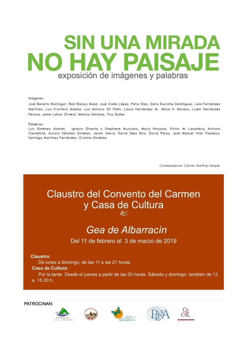 cartel expo foto A4