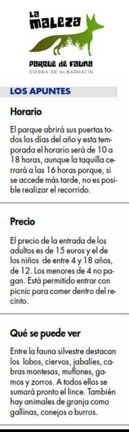 HORARIOS-PRECIOS-Parque_Faunistico
